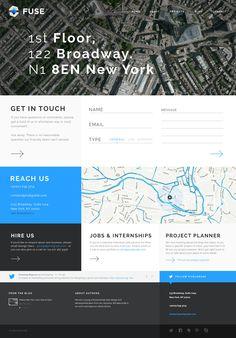 Fuse - Responsive Portfolio & Blog WordPress Theme  #responsivedesign #responsive #design #web #webdesign #UI #UX #branding #Amazing #GUI