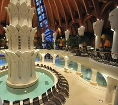 Hagymatikum Spa, (pr. had-mah-tikum) Makó #Hungary #spa #wellness Architecture Board, Organic Architecture, Heart Of Europe, Central Europe, Maker, My Heritage, Budapest, Places To See, The Good Place
