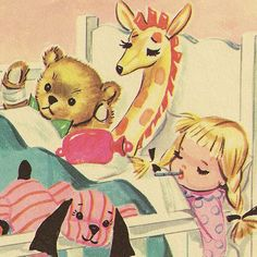 vintage childrens illustrations