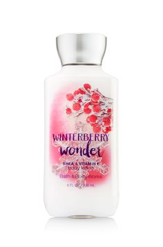 Winterberry Wonder Body Lotion - Signature Collection - Bath & Body Works