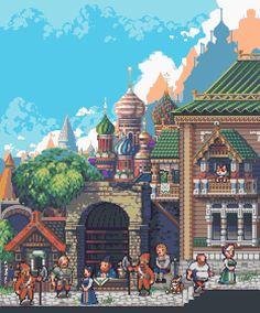 Three-Tenth Kingdom - Czargorod mockup byValery Kim| Tumblr