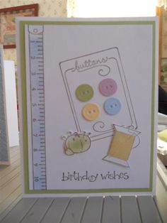 Sew Suite Birthday by matilda77 - Cards and Paper Crafts at Splitcoaststampers