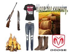 """""""Untitled #162"""" by horses4ever1322 on Polyvore featuring Frame Denim, RIFLE and Ariat"""