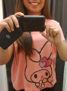 My Melody Uniqlo shirt