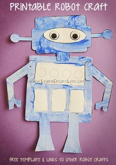 Printable Robot Craft, version III