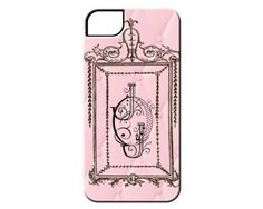 French Regal Frame Monogrammed 3D wrap Case for iPhone and Samsung Phones FREE SHIPPING on Etsy, $24.95
