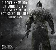 Always. The way of the warrior.