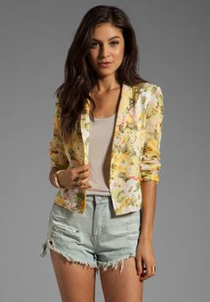 Lovers Friends Wine Dine Blazer