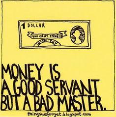 it's not about the money money money~