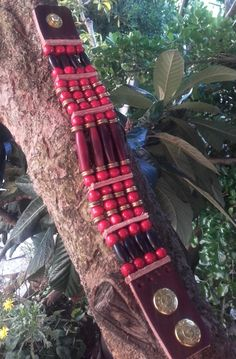 Bracelet amérindien 4 rangs corne perles par IndianHeritageArts