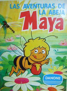 Album cromos La Abeja Maya Danone