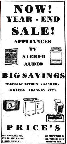 Price's 1975 ad