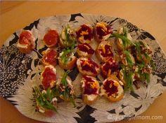 Rachel Ray's Spring Crostini Appetizers