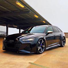 Audi A6 Rs, Audi Rs6, Audi A6 Avant, My Dream Car, Dream Cars, Black Beast, Best Luxury Cars, Photo Black, Car Car