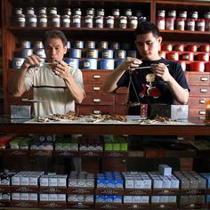 Chinese Herbology Traditional Chinese medicine shop in Jakarta, Indonesia