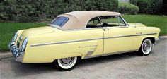 "The Pick of the Day is the kind of stylish Mercury that comes to mind when you hear, ""Crazy 'bout a Mercury/Lord I'm crazy 'bout a Mercury/I'm gonna buy me a Mercury. Old Vintage Cars, Antique Cars, Old Fords, Car Advertising, Mercury, Lincoln, Convertible, Vans, Trucks"
