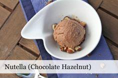 Best homemade ice cream I've ever tasted and easy! Nutella IceCream - Scoop Adventures - Scoop Adventures