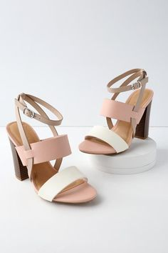 b51a991565 Ankle Strap Heels - Women's High Heels - Strappy Heels for Women