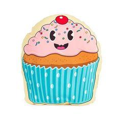 Coussin Cupcake détails