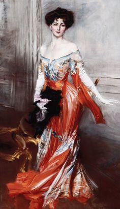Lady Decies Elizabeth Drexel Lehr a Paris di Giovanni Boldini. Belle Epoque, Birmingham Museum Of Art, Giovanni Boldini, Italian Painters, Classical Art, Beautiful Artwork, American Artists, Love Art, Female Art