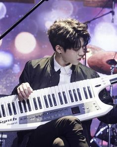 Every Concert in April Behind Park Sung Jin, Day6 Dowoon, Kim Wonpil, Young K, Bob The Builder, Pin Pics, Important People, Korean Bands, Picture Credit