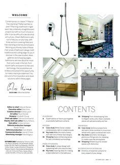 Interview: Heidrun Bjornsdottir renovates her bathroom with luxurious fittings from Drummonds - drummonds-uk.com, Homes & Gardens Dream Bathrooms, 2015