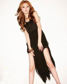 Split Joint Irregular Hem Sleeveless Chiffon Dress #fashion #dress