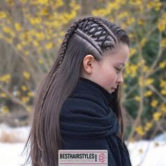 to easy braided hairstyles evening hairstyles hairstyles designs hairstyles different hairstyles 2018 braid and curls quiff hairstyles hairstyles for 6 year olds # fulani Braids with curls Cute Braided Hairstyles, Short Hair Updo, Braids For Black Hair, Box Braids Hairstyles, Girl Hairstyles, Fast Hairstyles, Hairstyles 2018, Curly Hair, Hairstyles Videos