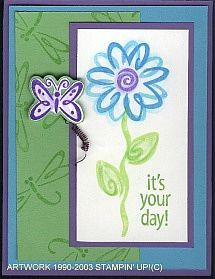 Stampin' Up! Fresh Flowers