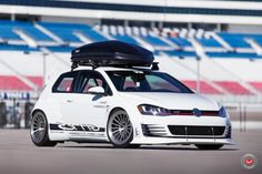 VW Golf MK7 GTI RS Vossen Forged LC 106 Tuning 10 photo