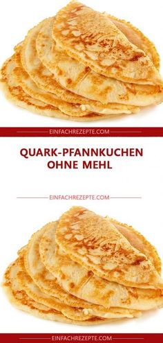 Quark pancakes without flour 😍 😍 😍- Quark-Pfannkuchen ohne Mehl 😍 😍 😍 Quark pancakes without flour 😍 😍 😍 - Healthy Recipes For Diabetics, Diabetic Recipes, Healthy Drinks, Sin Gluten, Slow Cooker Recipes, Crockpot Recipes, Pancake Healthy, Pancake Recipes, Dessert Blog
