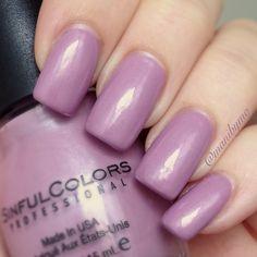 "Sinful Colors ""Rose Dust"" swatch.  #nails #nailart #polish #nailpolish #mani #manicure #nailsofinstagram"