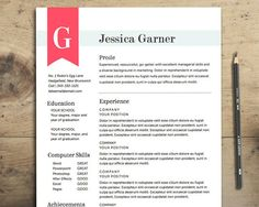 My Resume Design In Gray And Yellow Buy The Template For Just