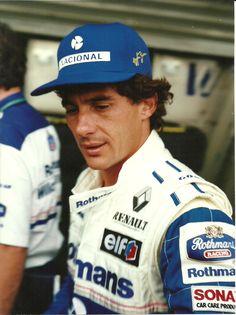 Ayrton Senna no GP do Brasil de 1994 - Foto exclusiva!