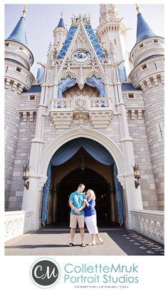 Walt Disney World Engagement Photos: Madelyn + Derek | Magical Day Weddings | A Wedding Atlas Fan Site for Disney Weddings