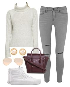 """""""Untitled #71"""" by maggiejanexo on Polyvore featuring Vans, Frame Denim, Cassia, Ray-Ban and Carolee"""
