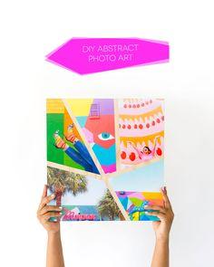 DIY Abstract Photo A
