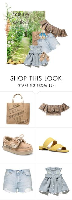 """""""Nature Walk :Walks With Mini Me"""" by the-house-of-kasin ❤ liked on Polyvore featuring Vivienne Westwood Anglomania, philosophy, Circus by Sam Edelman and Topshop"""