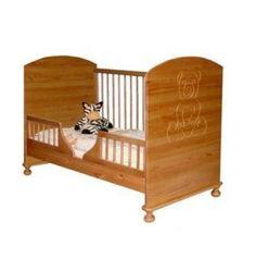 Giường cũi Teddy màu gỗ tự nhiên 9 trong 1 tại Kids Plaza