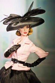 Barbie wears the best HATS!