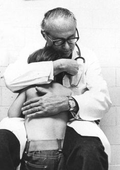 In the early 1960s, Dr. C. Henry Kempe was the first person in the world to describe child abuse as a medical condition.   In 1972, Dr. Kempe directed the opening of one of the country's first child-abuse identification, prevention and treatment programs right here at Children's Hospital Colorado.