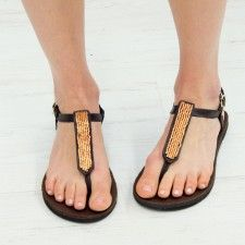 Cyprus Accent Sandal Front