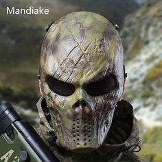 Camouflage Outdoor Tactical Mask Full Face Airsoft Mask – 520outdoor