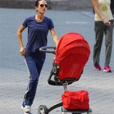 Actrice Jennifer Connelly kan goed multitasken dankzij de #Stokke Xplory | Babystuf