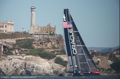 Oracle Team USA Now Has the Wind at Its Back.  With Alcatraz Island for a backdrop, OracleTeamUSA continued its jailbreak Monday, winning its fifth consecutive must-win race in this America's Cup.