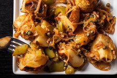 Warm German Potato Salad with Bacon
