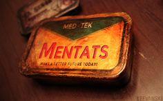 Mentats Box // Fallout 3 by Keevanski