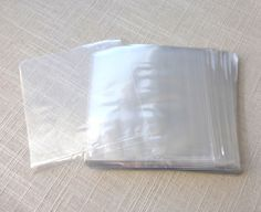 4x4 inches 100 Flat Crystal Clear Poly Bags  1.5 mil thick Wedding Birthday Party Favor Candy Treats Products Crystal Clear by ParisCabinet on Etsy https://www.etsy.com/listing/154333650/4x4-inches-100-flat-crystal-clear-poly
