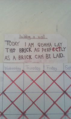 Offerte lavoro Roma  #Lavoro #Occupazione #Roma #Capitale Brick by Brick... You don't set out to build a wall... You say...