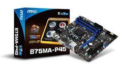 MSI LGA1155/Intel B75/DDR3/SATA3 USB 3.0/A/MicroATX Motherboard B75MA-P45 by MSI Computer Corp., http://www.amazon.com/dp/B008S8WA18/ref=cm_sw_r_pi_dp_Bntprb0N59F5Q